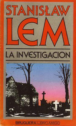 Investigation Spanish Bruguera 1979.jpg