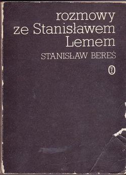 Rozmowy ze Stanisławem Lemem Polish Wydawnictwo Literackie 1987 soft.jpg