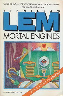 Mortal Engines English Harcourt 1992.jpg