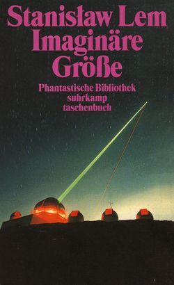 Imaginary Magnitude German Suhrkamp 1996.jpg