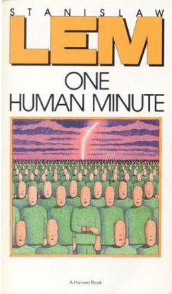 One Human Minute English Harcourt 1986 paperback.jpg